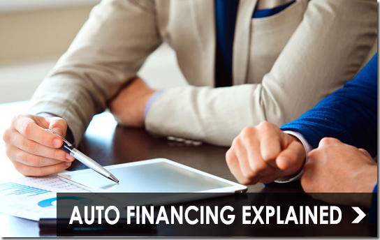 Auto Financing Explained