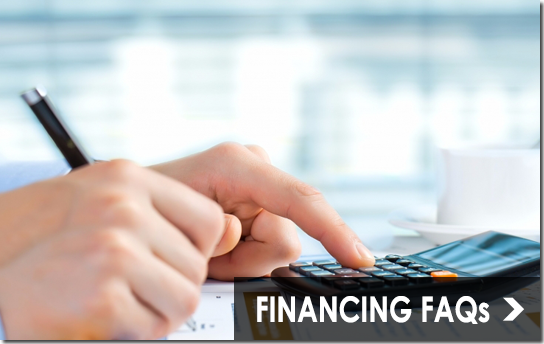 Financing Frequently Asked Questions