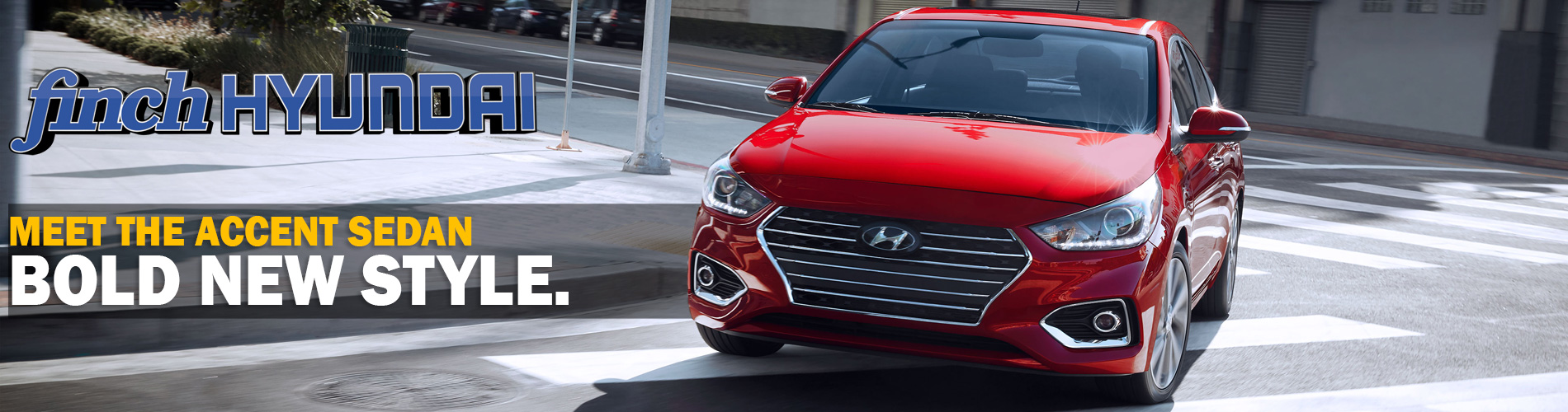 Meet the bold new style of the redesigned 2018 Hyundai Accent Sedan in London Ontario