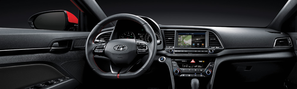 The new Hyundai Elantra Sport in London Ontario at Finch Hyundai