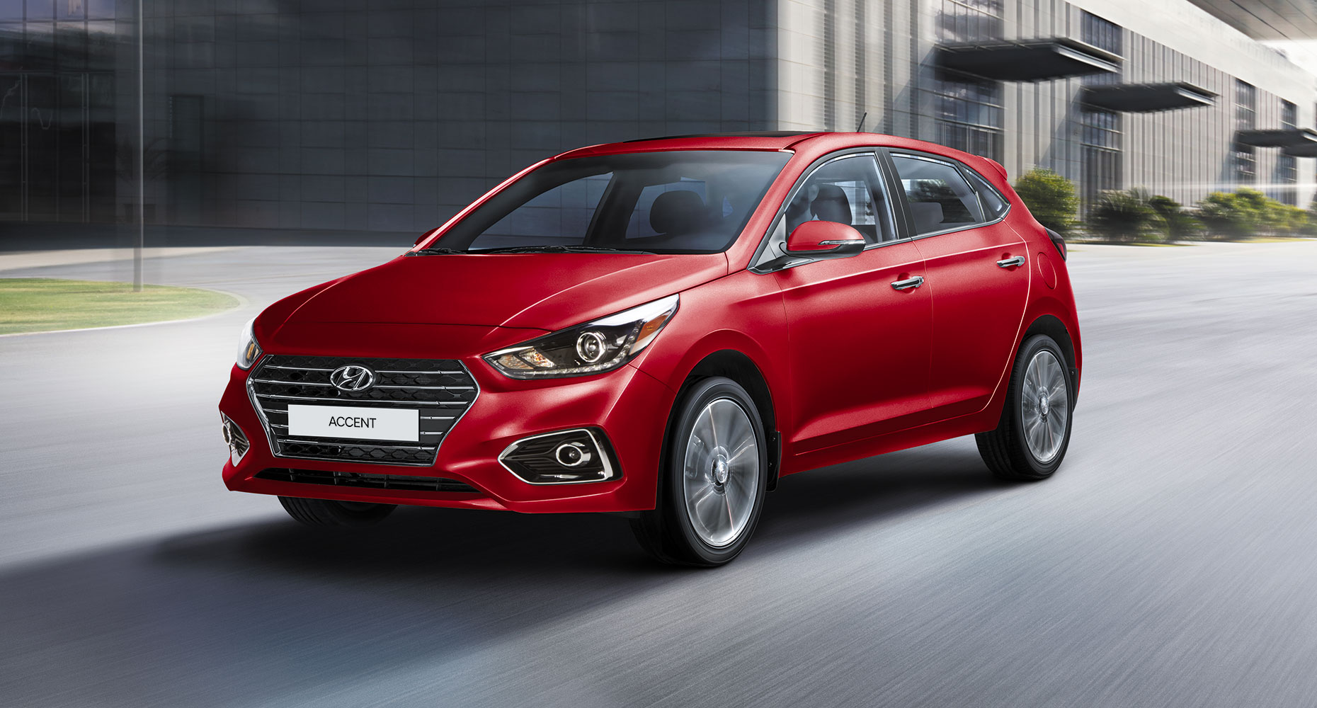 The new Hyundai Accent Hatchback in London Ontario at Finch Hyundai