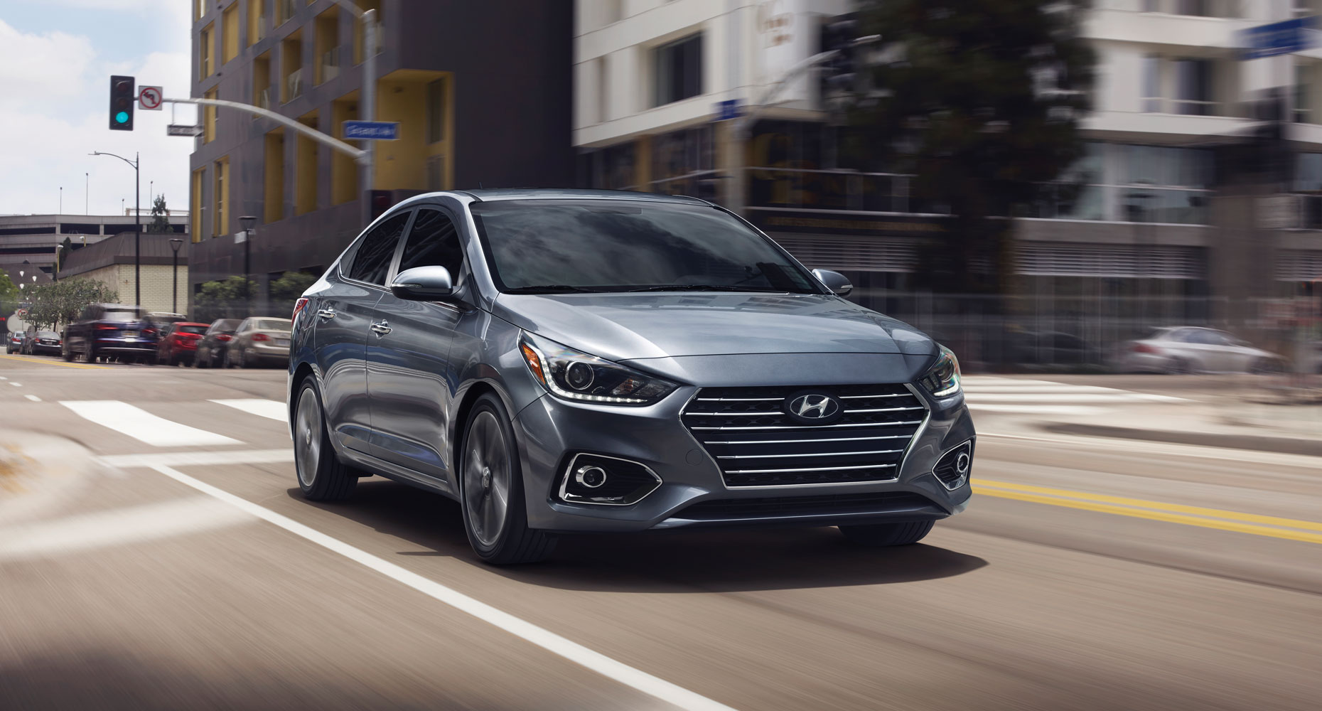 The new Hyundai Accent Sedan in London Ontario at Finch Hyundai