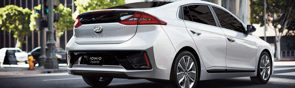 The new Hyundai IONIQ in London Ontario at Finch Hyundai