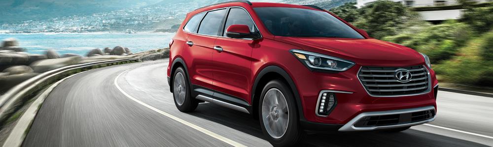 The new Hyundai Santa Fe XL in London Ontario at Finch Hyundai