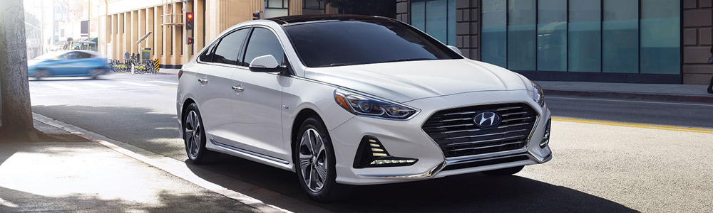 The new Hyundai Sonata Hybrid in London Ontario at Finch Hyundai