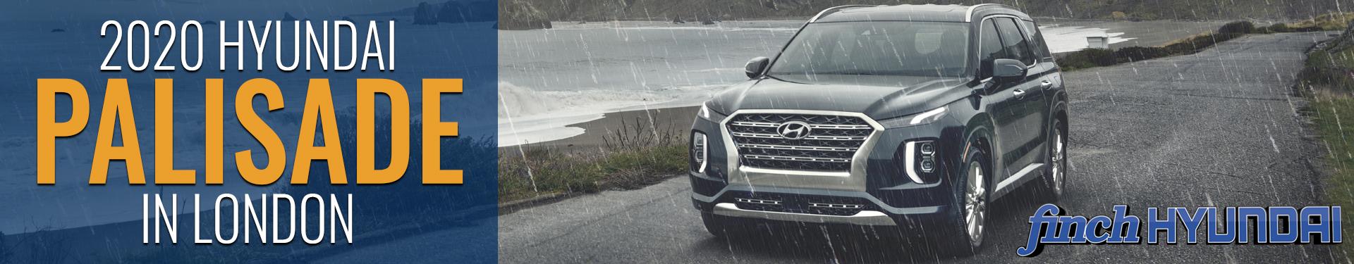 Discover the new 2020 Hyundai Palisade in London Ontario, Sarnia, Stratford & Woodstock from Finch Hyundai, new SUV in London