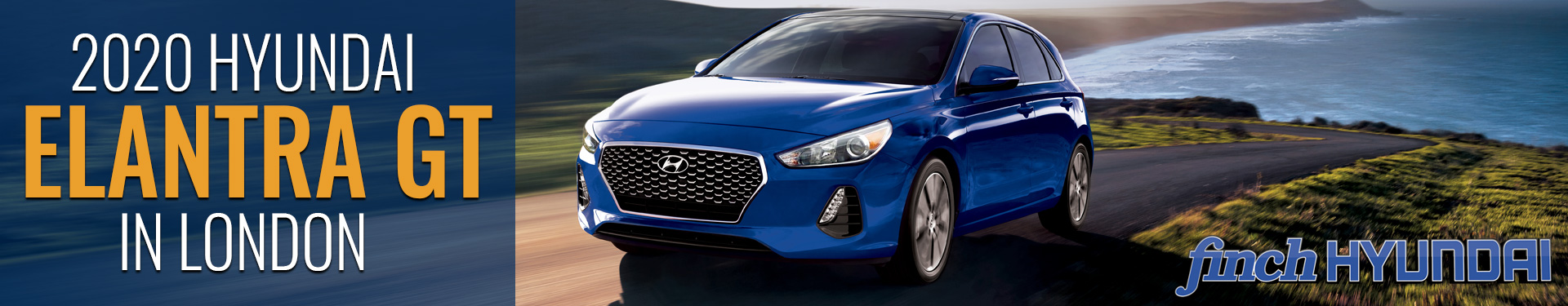 Discover the new 2020 Hyundai Elantra GT in London Ontario, Sarnia, Stratford & Woodstock from Finch Hyundai, new Cars in London