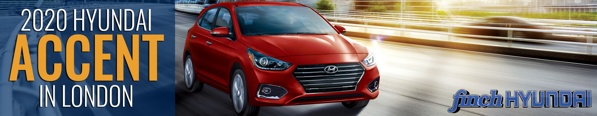Discover the new 2020 Hyundai Accent in London Ontario, Sarnia, Stratford & Woodstock from Finch Hyundai, new Cars in London