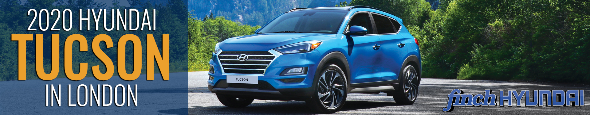 Discover the new 2020 Hyundai Tucson in London Ontario, Sarnia, Stratford & Woodstock from Finch Hyundai, new SUV in London