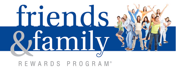 Friends and Family Rewards Program