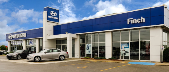 Finch Hyundai Dealership