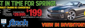 Get a great deal on a Used 2015 Chevrolet Camaro Convertible in London Ontario from Finch Chevrolet Cadillac Buick GMC