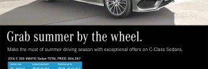 Make the most of summer driving season with exceptional offers on the 2016 Mercedes-Benz C-Class C 300 4MATIC Sedan in London Ontario at MB London!