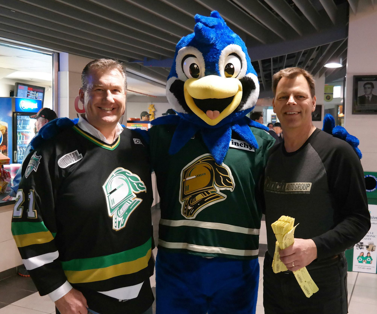 London Knights 50/50 Draw in support of LHSC FEMAP