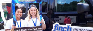 Finch Auto Group sponsors Rock the Park 2017