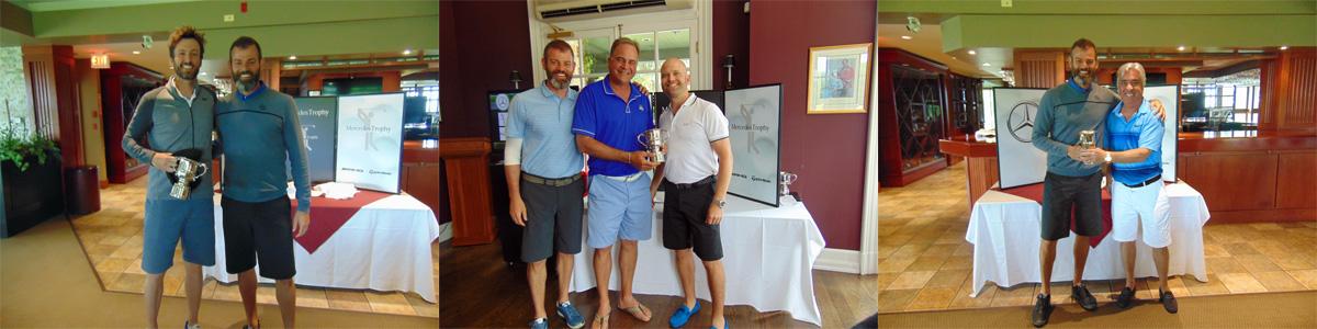 Mercedes-Benz London and Mercedes-Benz Newmarket were proud to host Mercedes Trophy Golf Tournaments through Mercedes-Benz Canada