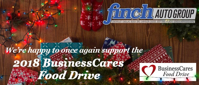 Stop by any of our London locations & drop off your non-perishable food items until December 20th