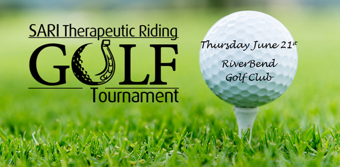 Sari Therapeutic Riding - summer 2018 Gold Tournament at RiverBend golf course