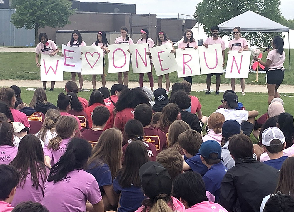 Banting Secondary School students raise money for OneRun 2019