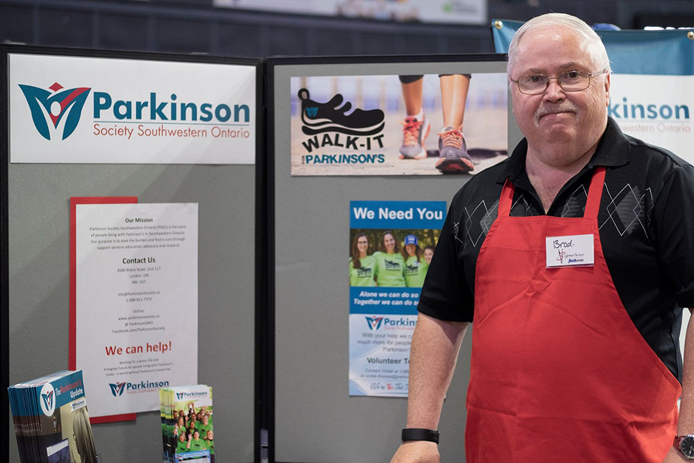 Signatures lunch for Parkinson's Society 2019