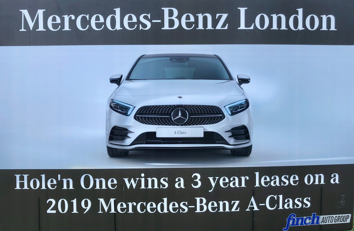 Mercedes Benz London at the Barbara Rankin Golf Classic 2019