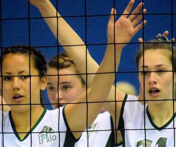 Forest City Volleyball Club girls team